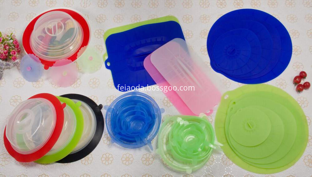 Silicone Lid Set