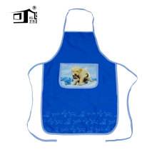 kefei roundness edge silk screen printing design craft kids apron