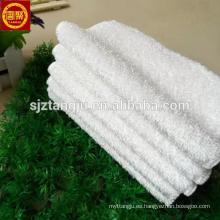 toalla de cocina de bambú blanco