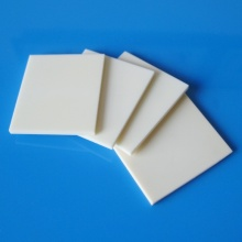 Placa de cerâmica quadrada industrial personalizada 99% 99,5% alumínio