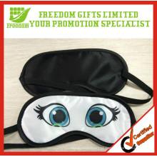 High Quality Durable Customized Logo Polyester Sleeping Mask