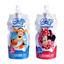 Spout Pouches With Cap Milk Packaging Bag