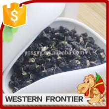 2016 Tipo de cultivo común de la venta caliente bayas negras del goji