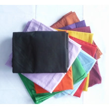 Polyester Cotton 90GSM Black Pocketing Fabric