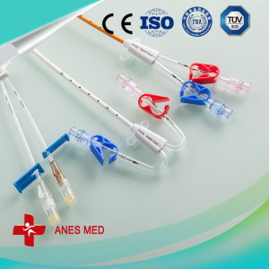 Triple Lumen Antimicrobial hemodialysis catheter
