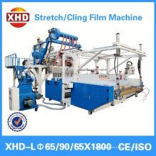 Machine de fabrication de films extensibles LLDPE / adhérente à l'environnement