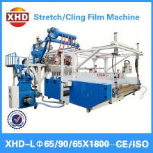 Estiramento ambiental de LLDPE / filme de aderência que faz a máquina