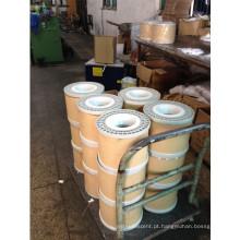 ASTM B566-93 CCA Bare cobre folheado fio de enrolamento de alumínio