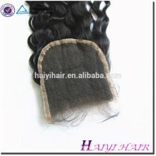 Grande fechamento conservado em estoque do laço da extensão do cabelo de Ombre do cabelo do Virgin
