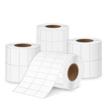 Этикетки с термотрансферной печатью Пустые самоклеющиеся наклейки