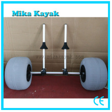 Collapsible Foldable Kayak Inflatable Beach Sand Wheel Cart Trolley