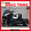 EEC Hot Sale 300cc Reverse Trike For Sale
