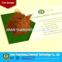 Sulfonate de lignine de sodium de pulpe de mélange de paille en bois