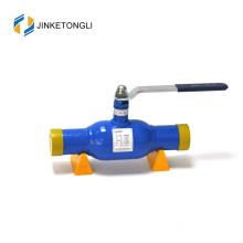 High pressure weld extended api trunnion mounted ball valve weld extended