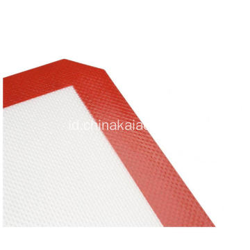 Red Blue Silicone Fiberglass Non-stick Baking Mats