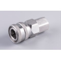 Stainless female Automatic quick coupler socket 3/8 thread