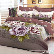Reactive Printed Satin Fabric for Bedspreads