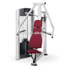 entrenamiento de la fuerza de la aptitud de la estación sola equipo del gimnasio máquina de la prensa del pecho asentada