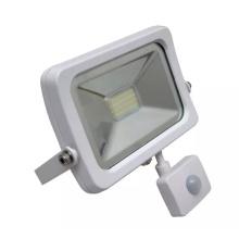 Novo Ce SAA TUV IP65 10W 50W ao ar livre COB LED Floodlight com sensor de movimento PIR