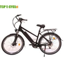 Precio barato de China CE venta superior moda diseño ciudad bicicleta eléctrica