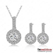Regalos para el Día de San Valentín de la Mujer Cubic Zirconia Jewelry Set (CST0006-B)