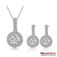 Women′s Valentine′s Day Gifts Cubic Zirconia Jewelry Sets (CST0006-B)