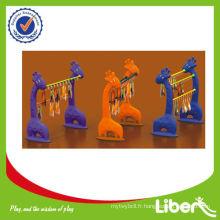 Ensemble de rangement ouvert à 4 niveaux à l'école LE-SK011 Garantie de qualité