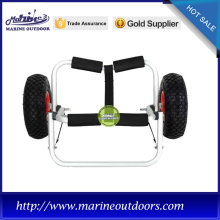 Aluminum boat trailer, Hot sale carrier dolly cart, Beach folding kayak trolley