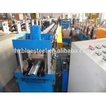 High Quality Motor Overhead Garage Door Roll Forming Making Machine , Used Metal Galvanized Steel Roller Shutter Door Rollformer