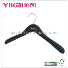 2013 New Style Rubber Coated Wooden Hanger