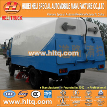 DONGFENG 4x2 HLQ5108TSLE pavement sweeper truck cheap price hot sale
