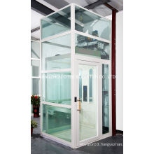 Stable running glass home elevator small elevator for homes