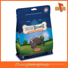 Guangzhou impresión y envasado de productos de impresión personalizada de plástico de alimentos para perros bolsa de embalaje