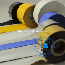 Gold silver  30mm*100m  hot stamp date code ribbon for expiry date print