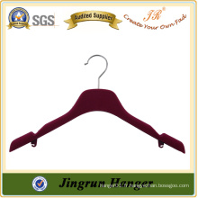 Flocked Hanger Velvet Hanger For Dress