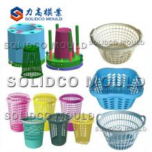 Molde de inyección de cesta de red de lavado plástico