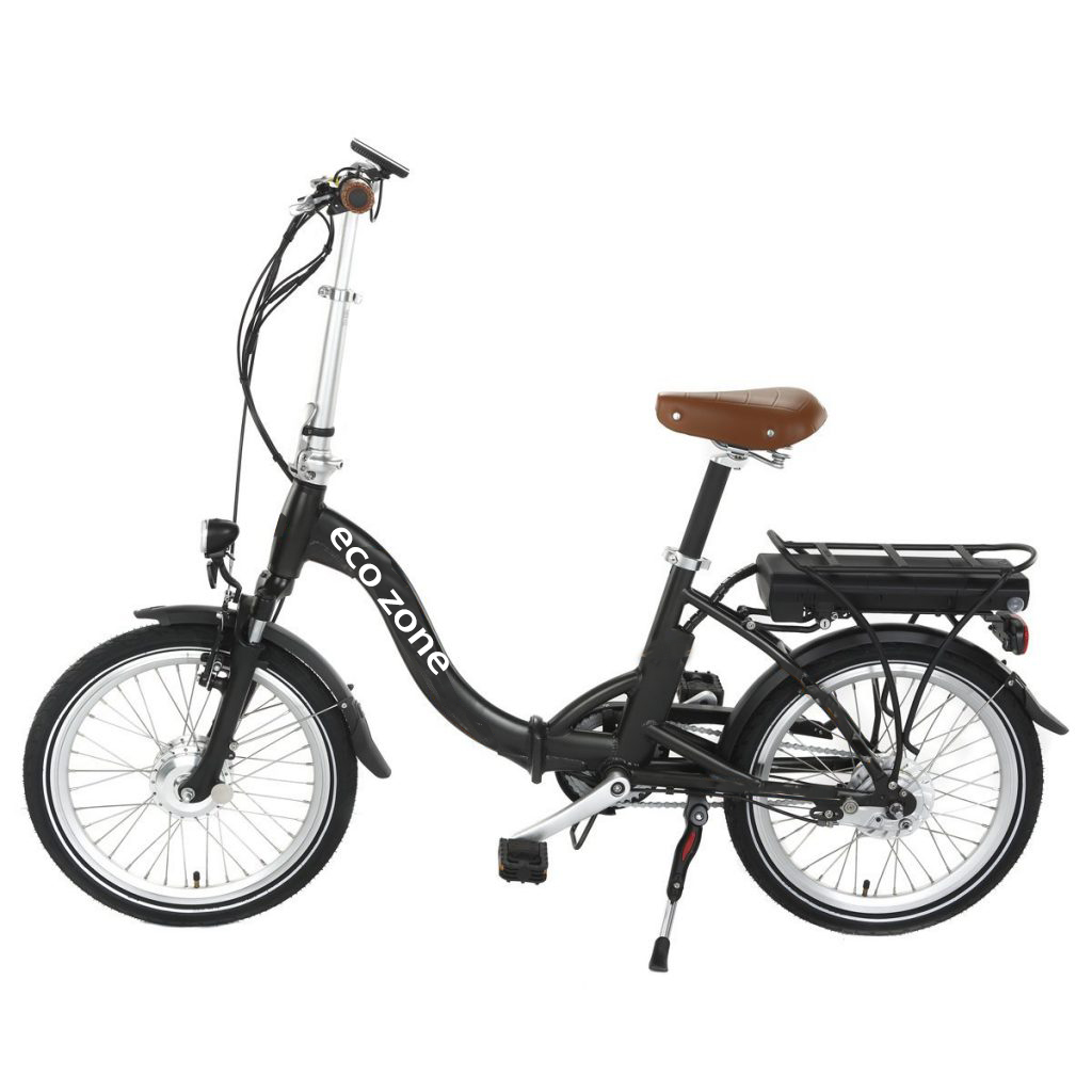 Light weight aluminum rear hanger electric bicycle