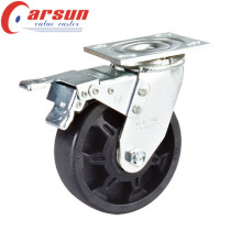 100mm Heavy Duty Rotating High Temperature Wheel Castor with Total Lock