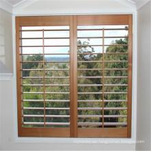 factory direct wooden window door louvre plantation window shutters