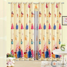 Lovely kids window curtain/fabric for kids curtains