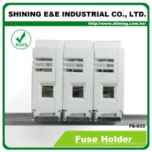 FS-033 Din Rail Mounted Cartridge Type 600V 32A Fuse Holder
