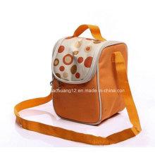 PP Non Woven Kühler Lunch Bag mit Griff Opg089