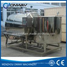 Système de nettoyage CIP en acier inoxydable Machine de nettoyage alcalin pour le nettoyage en place Système de lavage industriel Prix