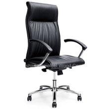 Chaise de bureau de bureau en cuir certifié BIFMA moderne (HF-CH092A)