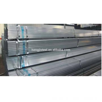 Tubo de acero galvanizado cuadrado (Q195 Q215 Q235 Q345)