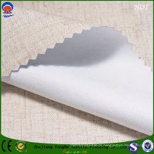 Impermeável Shading Tecido de linho cortina de linho para uso de tecido sofá