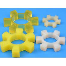 Cojín de acoplamiento de poliuretano en forma de pétalos