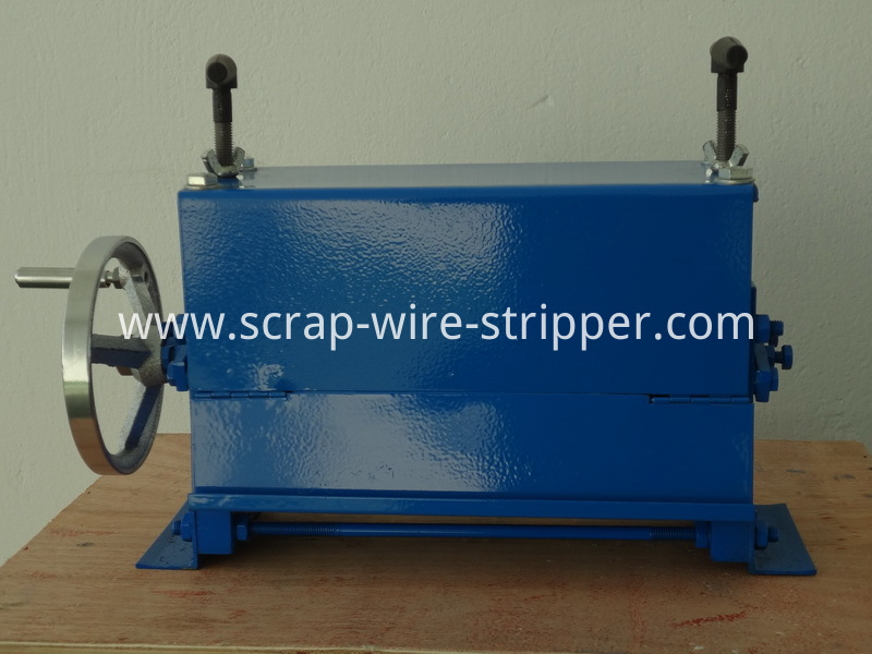 homemade wire stripping machine plans