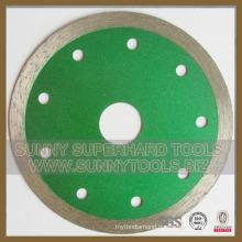 Continuous Rim Diamond Blade for Ceramic Tile Porcelain