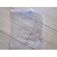 Sac d'emballage en PVC transparent Ziplock (hbpv-60)